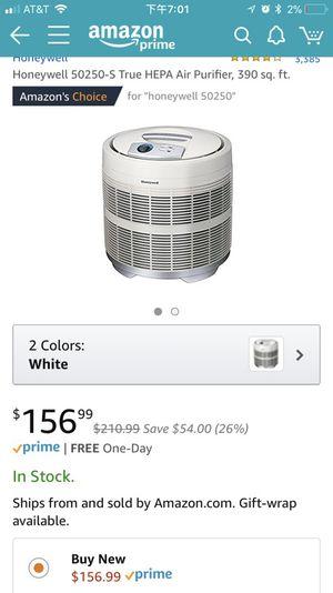 Honeywell air purifier for Sale in Austin, TX