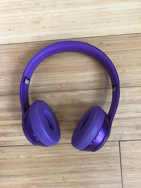Beats Solo Purple Headphones $20