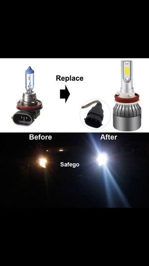 Brand New H4/H7/H8/H9/H10/H11/H13, 9005, 9006, 9012 LED Headlight Bulbs Series Low Beam/Fog Light Bulbs for Sale in Reynoldsburg, OH