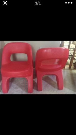 2 kids chairs step 2 for Sale in Woodbridge, VA
