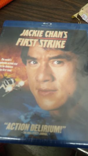Blu-ray DVD Jackie Chan's first strike for Sale in Gilroy, CA
