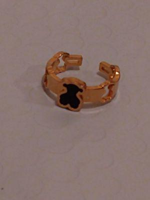 Black & Gold Bear Ring Size 6 NWOT for Sale in Punta Gorda, FL