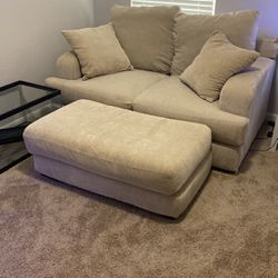 Sofa, Loveseat And Chair Set-small Tear In Love Seat Back for Sale in Houston,  TX