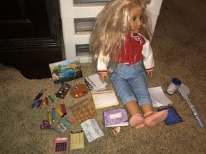 Our generation 18 inch doll similar to American girl lot for Sale in Lakewood, WA