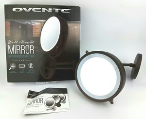 """OVENTE Wall Mounted Makeup Mirror 10X 7"""" for Sale in Las Vegas, NV"""