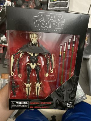 Star Wars Black Series 6' General Grievous for Sale in Inglewood, CA