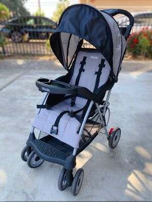 Kolcraft Cloud Plus Lightweight Easy Fold Compact Travel Stroller, Slate Grey for Sale in Fremont, CA