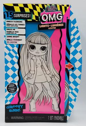 LOL Surprise OMG Groovy Babe LIGHTS Fashion Doll With 15 Surprises. for Sale in Burbank, IL