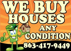 We Buy House any condition good, bad or ugly with zero repair cost, stress or fees. for Sale in Lakeland, FL