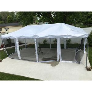 BRAND NEW HEAVY DUTY EASY UP TENT 20FT L X 10FT W for Sale in Santa Clarita, CA