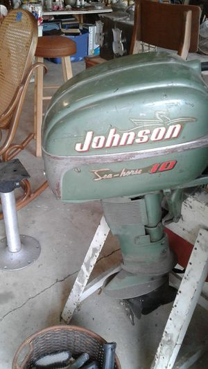 Vintage Johnson seahorse outboard motor for Sale in Hobart, IN