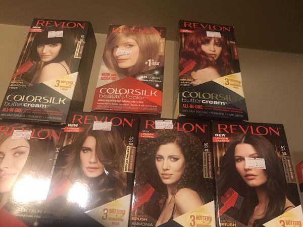 Revlon hair dye EACH