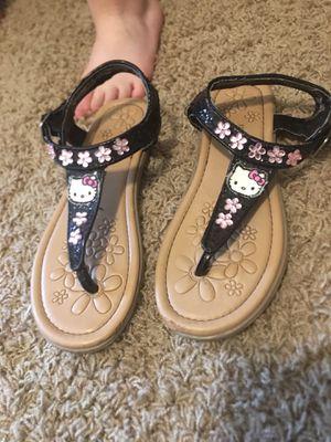 Girls hello kitty sandals for Sale in Gresham, OR