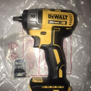 Dewalt 20v XR 3/8 Impact Tool Only for Sale in Irving, TX