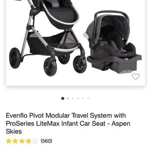 Evenflo Car seat And Stroller for Sale in Fort Worth, TX