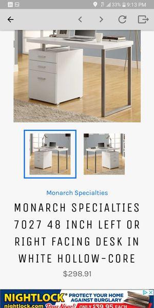 NEW white desk for Sale in Pickerington, OH