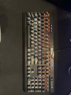 Corsair k70 mk.2 Cherry MX Red Switches for Sale in Mount Holly Springs, PA