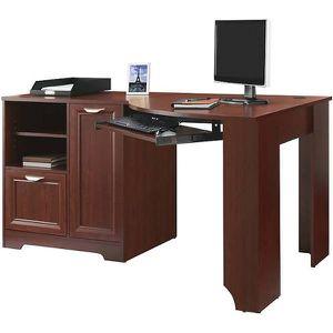 Cherry Wood Corner Computer Desk for Sale in St. Petersburg, FL