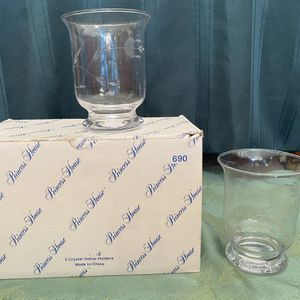 Princess House Crystal Votive Holders (set of 2) for Sale in Upland, CA