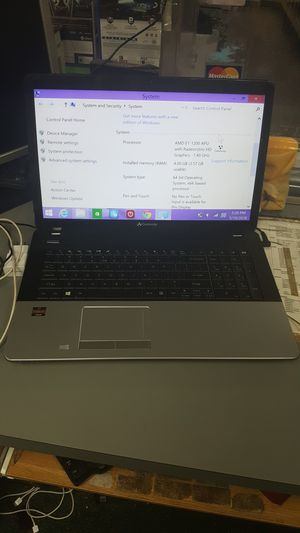 "Gateway 15"" laptop notebook computer AMD 4gb ram 500gb hdd for Sale in Baltimore, MD"