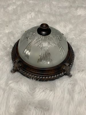 Flush ceiling electrical light fixture for Sale in Wantagh, NY