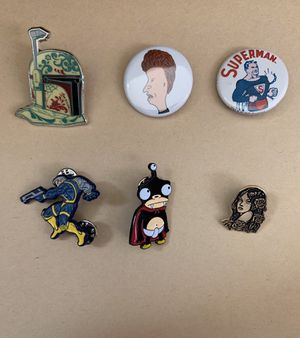Pins n Buttons bundle for Sale in Fontana, CA