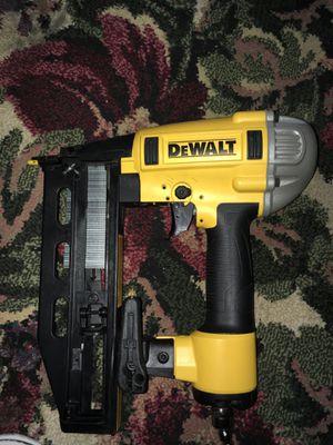 Dewalt nail gun 16 gauge for Sale in Fort Worth, TX
