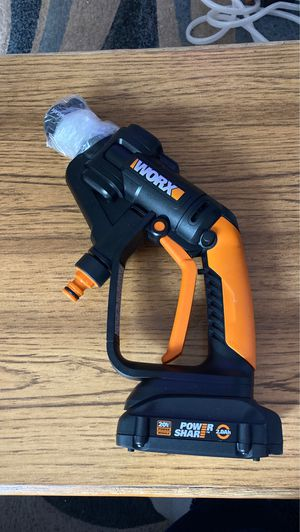 Worx Battery-Powered Pressure Washer for Sale in San Jose, CA