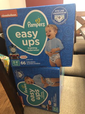 Pampers pull up 3t-4t 66 CT. Price if for each box for Sale in Irving, TX