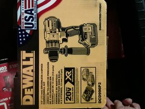 DEWALT HAMMER DRILL BRAND NEW 6 TOTAL EACH ONE I'M SELLING FOR$200 for Sale in Miami, FL