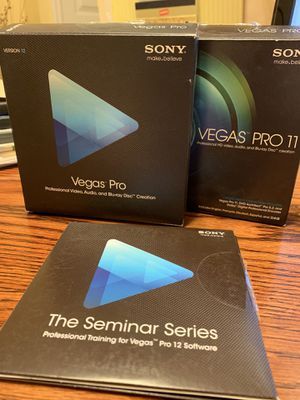 Sony Vegas Pro Software for Sale in Matthews, NC
