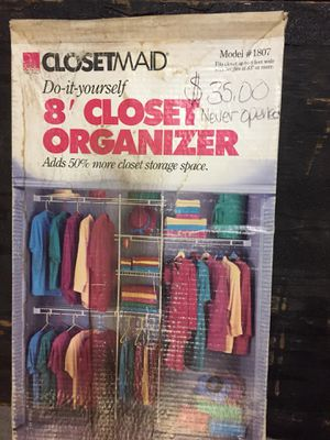 Closet organizer for Sale in Ontario, CA