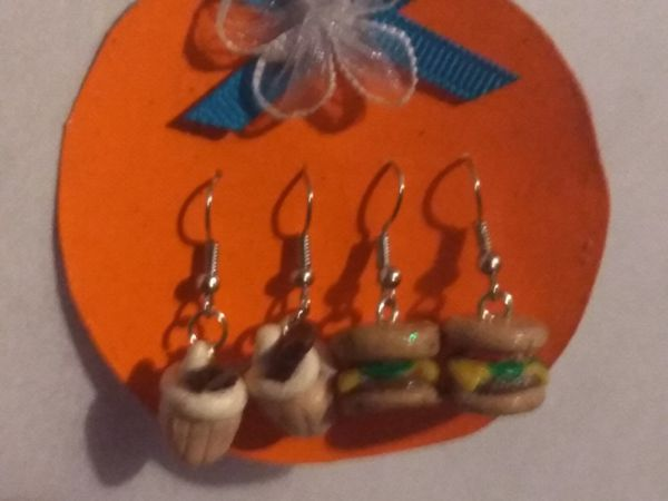Clay earring sets