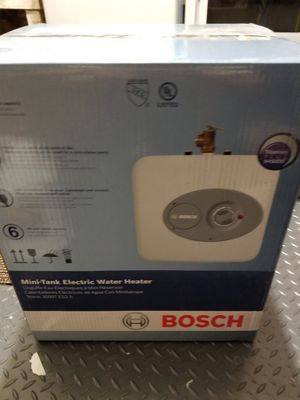 Bosch Mini Electric Water Heater 2.5 Gallons for Sale in La Costa, CA