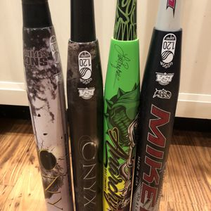 USSSA Slowpitch Softball Bats Onyx Miken Anarchy for Sale in San Jose, CA