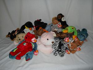 TY Beanie Babies / Plush Toys Lot for Sale in Fraser, MI