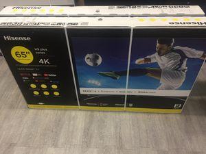 65 INCH HISENSE H9 4K SMART TV for Sale in Chino, CA