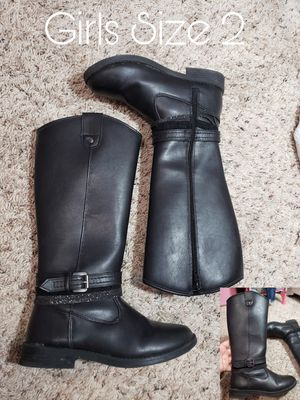 Girls Size 2 Boots for Sale in Round Rock, TX