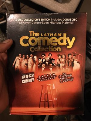 The Latham comedy collection 4- disc for Sale in Nashville, TN