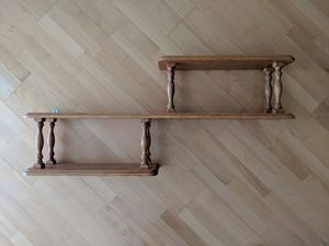 Real Oak Wood Wall Shelf for Sale in Chicago, IL