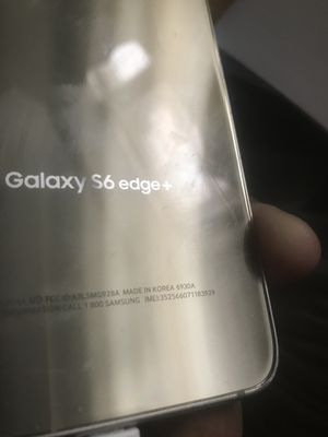 SAMSUNG GALAXY S6 EDGE+ BLACKLISTED for Sale in Chicago, IL