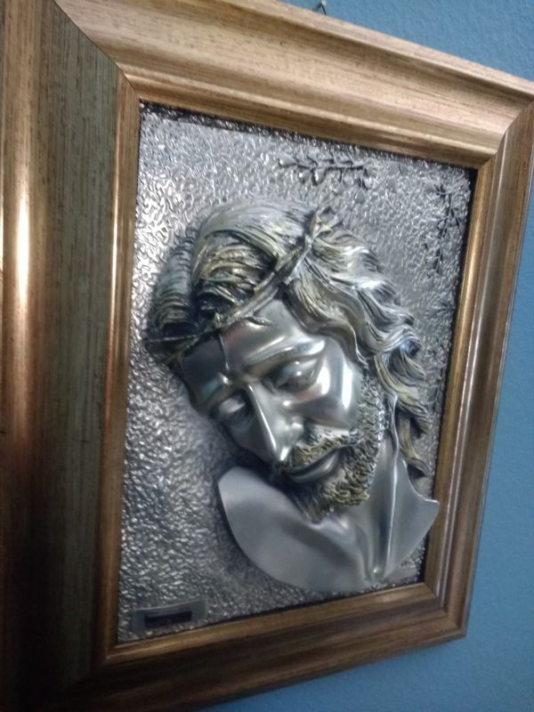 Arg Creazioni Artistiche Jesus Plaque For Sale In Clermont