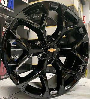 "20"" OEM GMC Chevrolet Silverado Tahoe Denali Yukon Cadillac Escalade Snowflake Wheels 6x139 - WE FINANCE!!🥳🥳 for Sale in Mesa, AZ"