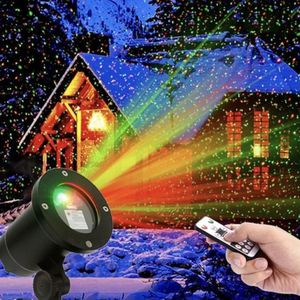 LaserXplore Laser Christmas Lights,Red and Green Star Projector,Moving Star Laser with 7 Lighting Modes and automatic timer WITH REMOTE for Sale in Ontario, CA