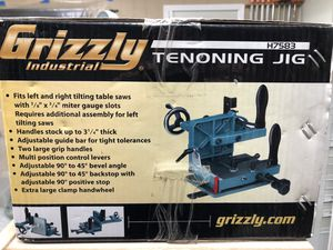 Brand new Grizzly Tenoning Jig for Sale in East Stroudsburg, PA