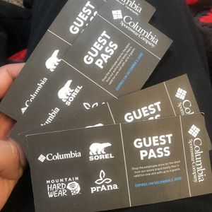 Columbia Guest Pass for Sale in Portland, OR