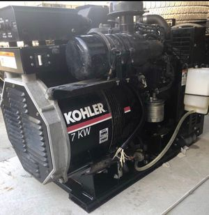 23hrs Diesel generator 7kw powers a whole home. for Sale in San Diego, CA