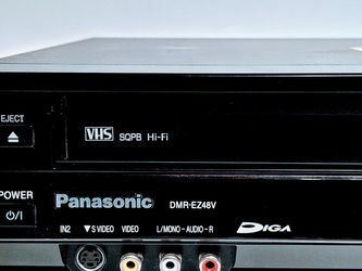 Panasonic DMR-EZ48V HDMI Digital VHS DVD Recorder VCR for Sale in Kirkland,  WA
