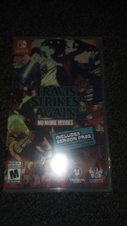 Travis Strikes Again No More Heroes Nintendo Switch for Sale in Staunton,  VA