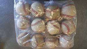 BASEBALL'S (1) DOZEN LEATHER GOOD CONDITION for Sale in San Diego, CA